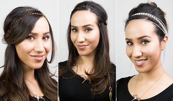 GIF Guide: Three Ways to Amp Up Your #NYE Ensemble With Hair Accessories