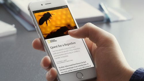 "Facebook Starts Hosting Publishers' ""Instant Articles"""