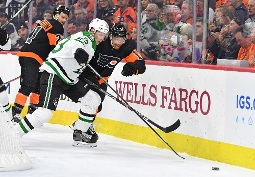 Stars snap five-game winless streak, top Flyers