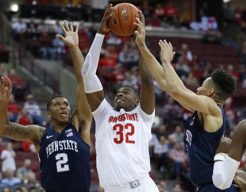 Ohio St jumps to No. 3 behind Louisville, Kansas in Top 25