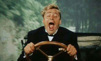 My reaction to the way some people drive.