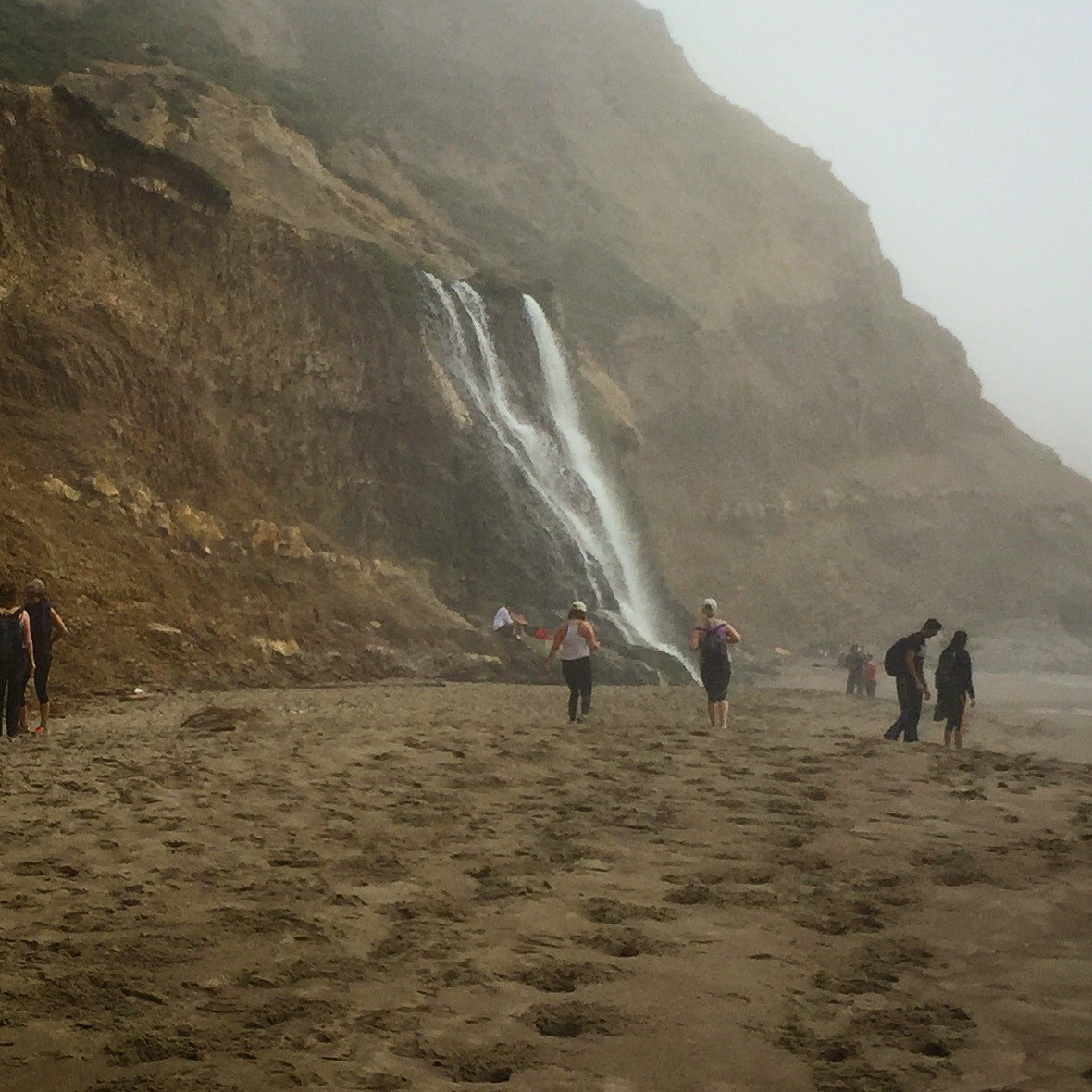Alamere Falls on Point Reyes National Seashore in California