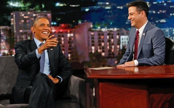 President Obama reads Mean Tweets on 'Kimmel,' talks Ferguson