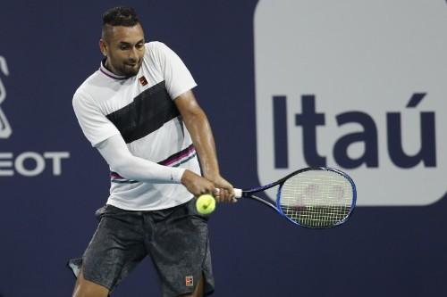 Tennis: Underarm or underhanded? Kyrgios serve stokes debate