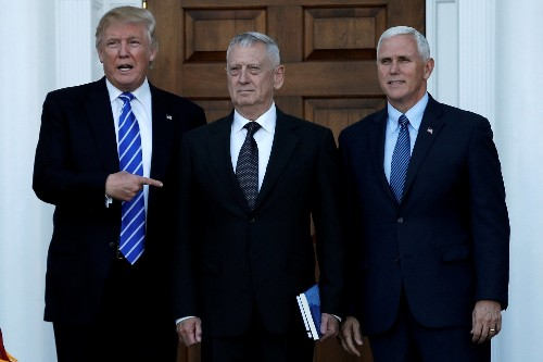 Trump considers Mattis, Romney for top national security jobs