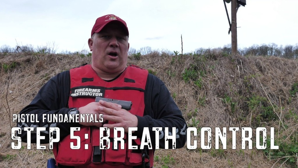 Handgun Fundamentals: Breath Control