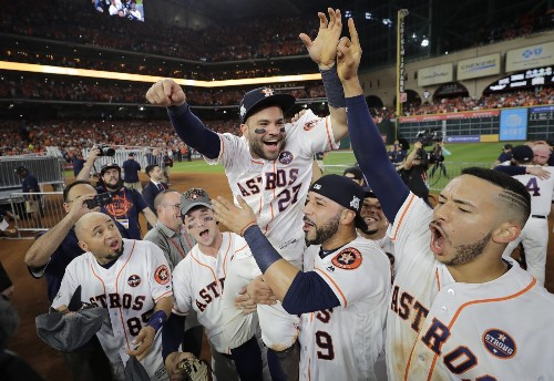 Astros Win the Pennant, Beat the Yankees in Game 7: Pictures