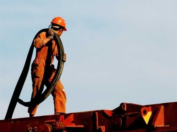 The long-awaited plunge in oil production is here