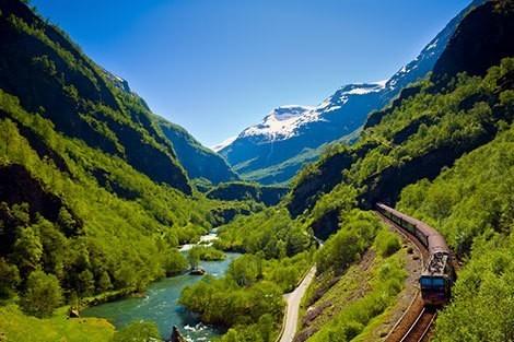 Europe's top 10 scenic rail journeys