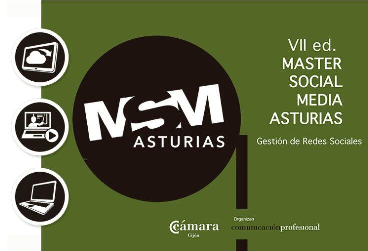 Matrícula Abierta para la VII ed del #Master #SocialMedia de #Asturias. Arrancamos el 26 de octubre! Info en: