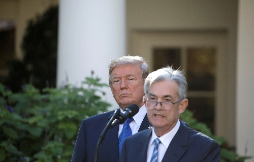 Fed's Powell, under pressure, likely to stick to 'mid-cycle' message