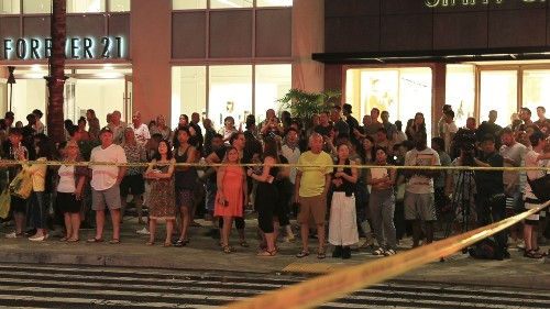 The Latest: Police say man seen at 3 arson-hit Hawaii hotels