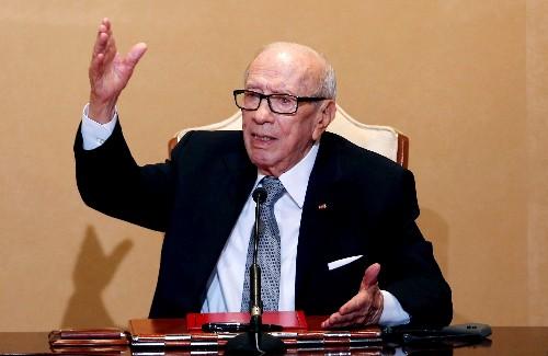 Tunisian president taken to hospital: presidency
