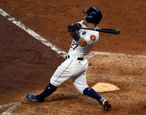 Astros Eliminate Red Sox and Advance to ALCS: Pictures