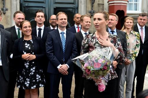 Denmark's new Social Democratic prime minister names government