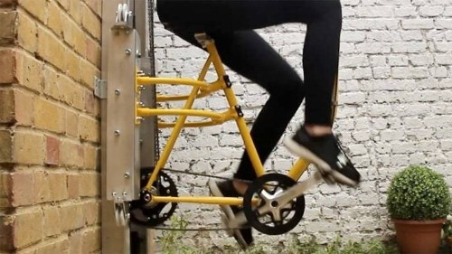 This Bike-Powered Elevator Takes Commuting To The Next Level