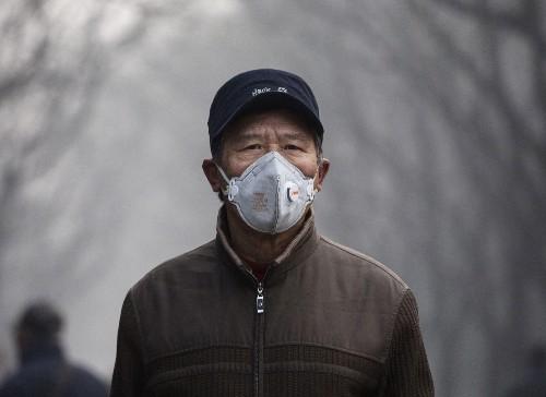 Smog Blankets Beijing: Pictures