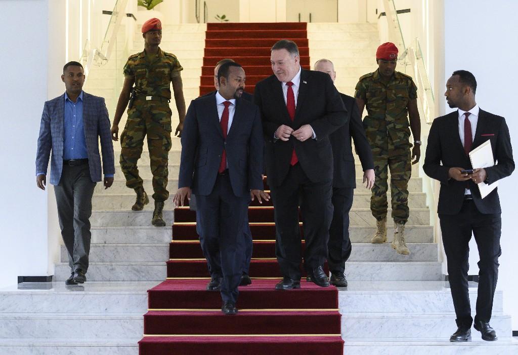 Ethiopia blasts Trump remark that Egypt will 'blow up' dam