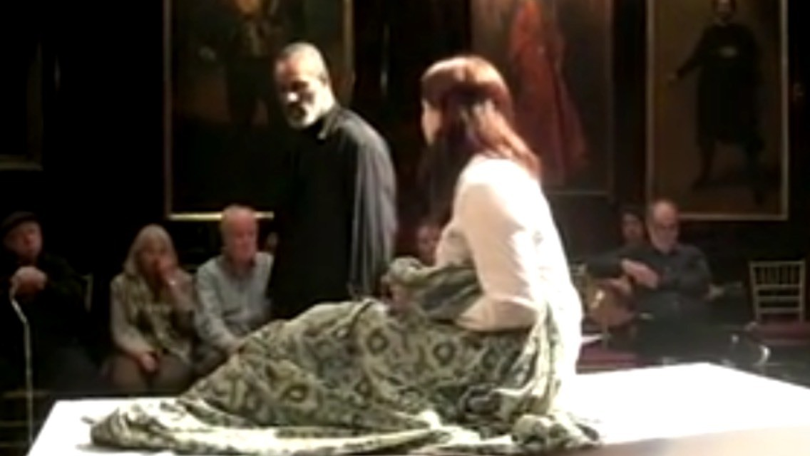 Othello & Desdemona from William Shakespeare's Othello