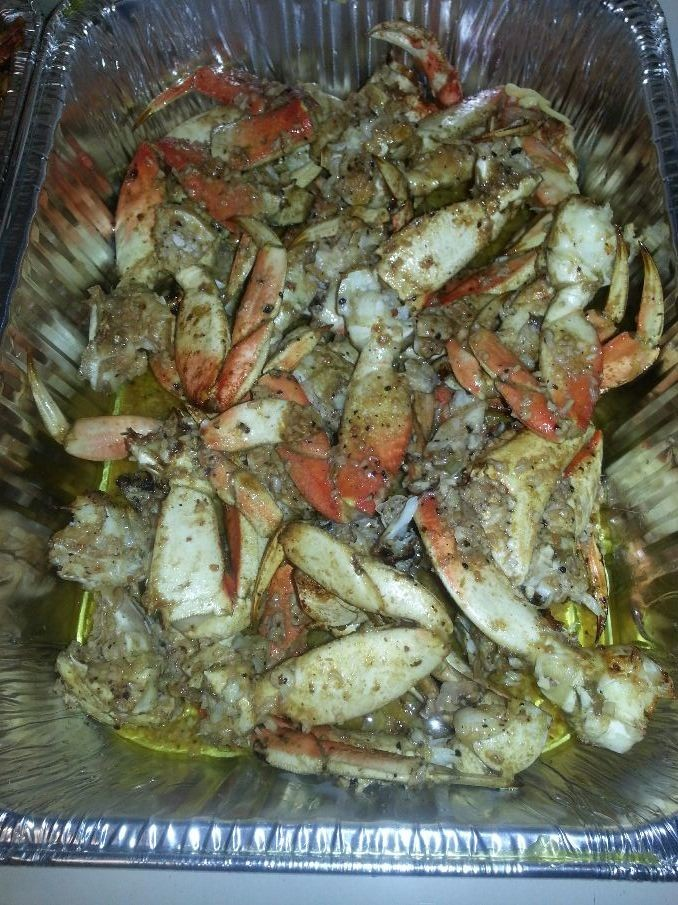 Salt and pepper crab