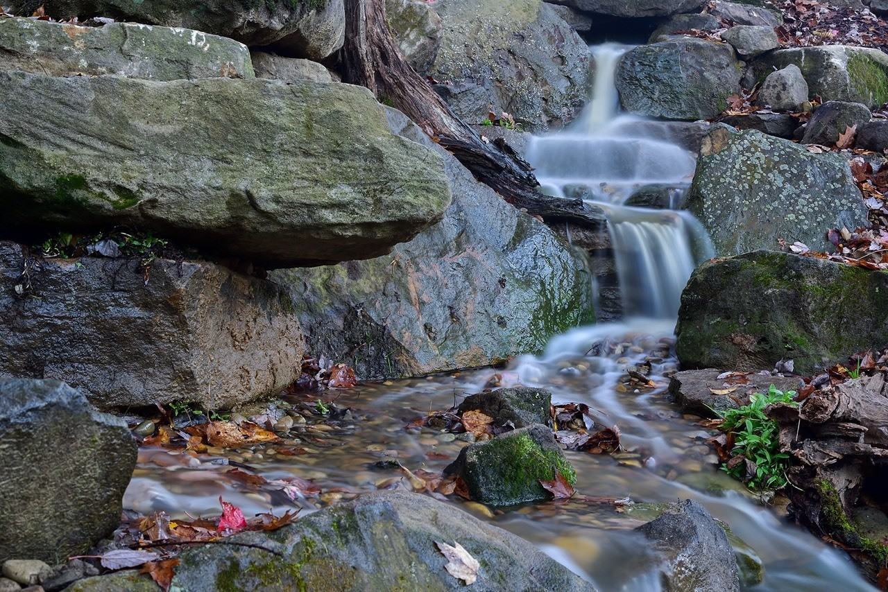 Pondless waterfall built by Aquatic Edge. We designed this to look as natural as possible. Pittsburgh, Western PA, Pennsylvania