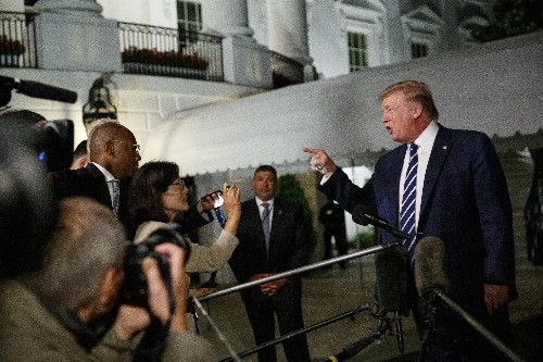 The 'chosen one'? Trump says never mind