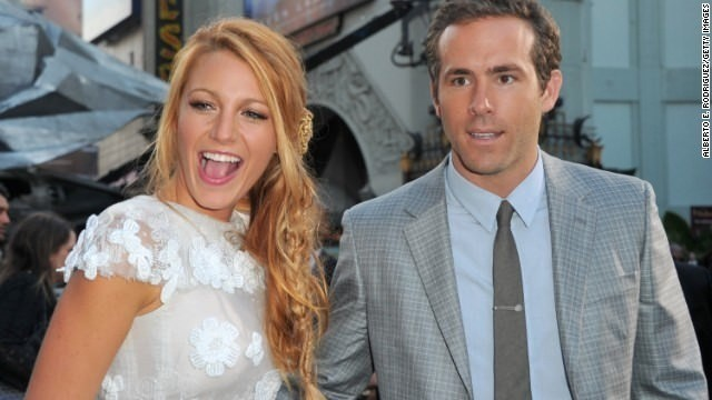 Blake Lively reveals she's expecting