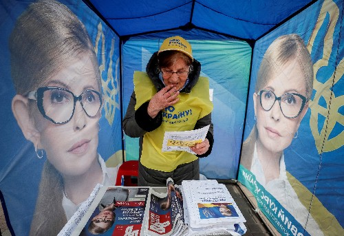 Unpredictable election makes Ukraine's friends wary