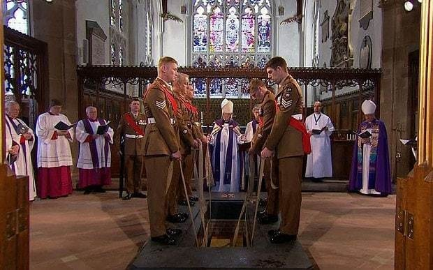 Richard III 'given dignity denied in death' as he is laid to rest