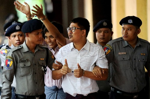 Myanmar's top court rejects final appeal by jailed Reuters journalists