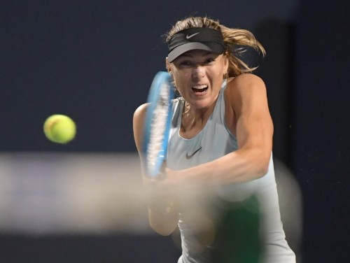 Konta, Sharapova fall at Rogers Cup in Toronto