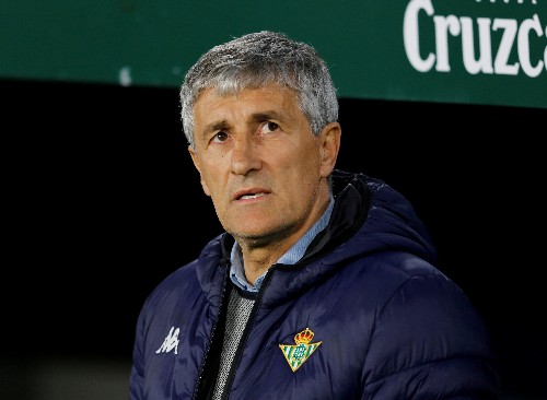 Soccer: Betis coach Setien to leave club after beating Real Madrid
