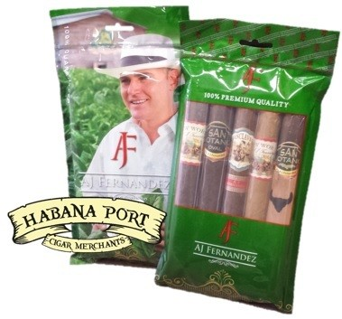 The AJ Fernandez 5ct Sampler gets you over 20% savings compared to buying them by the single and includes the new Enclave cigar. www.habanaport.com
