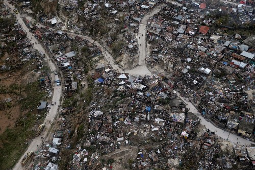 The Shot: Hurricane Matthew's Destruction in Haiti