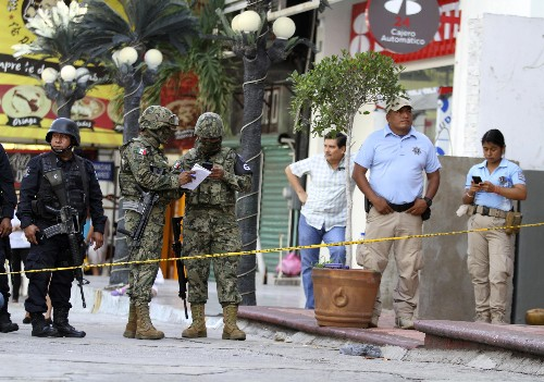 Mexico sets 1st half murder record, up 5.3%