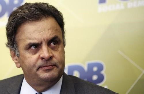 PGR denuncia Aécio por corrupção e obstrução de Justiça