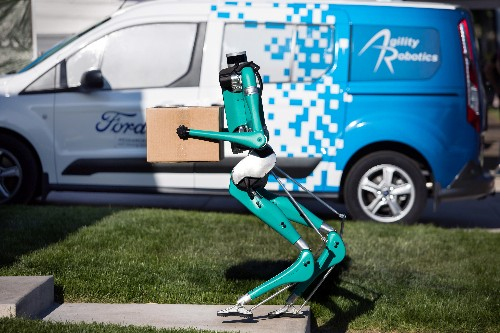 Meet 'Digit', the walking robot for Ford self-driving vans