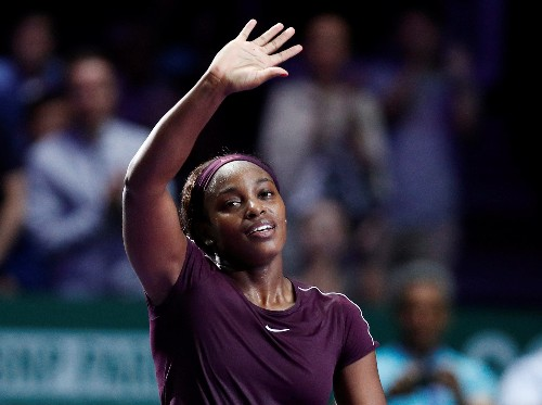 Tennis: Stephens goes from zero to hero with stunning turnaround in Singapore
