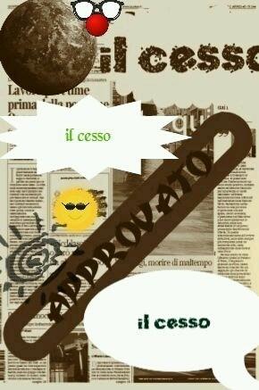 IL CESSO - Magazine cover