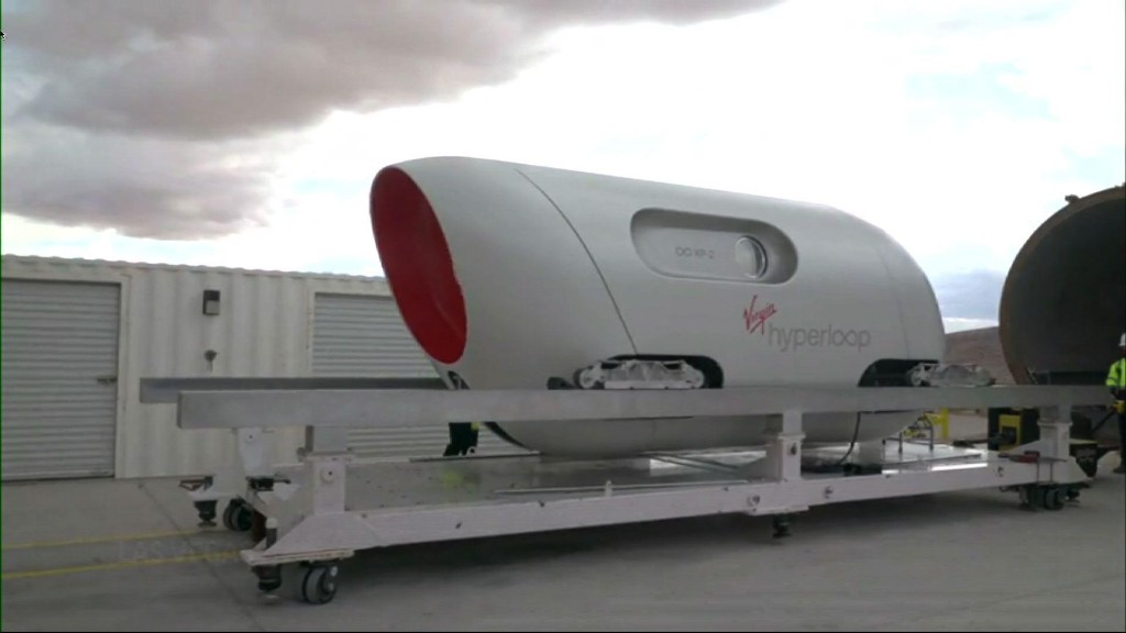 1st human passengers travel safely in a Hyperloop