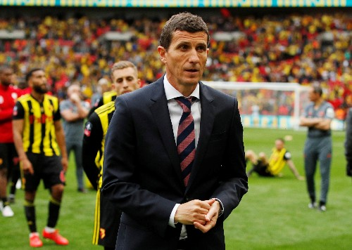 Soccer: Watford manager rues early miss in FA Cup rout