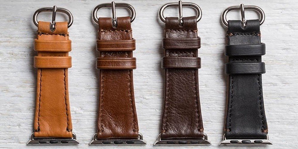 New Pad & Quill Apple Watch bands turn Sport into classy for $86