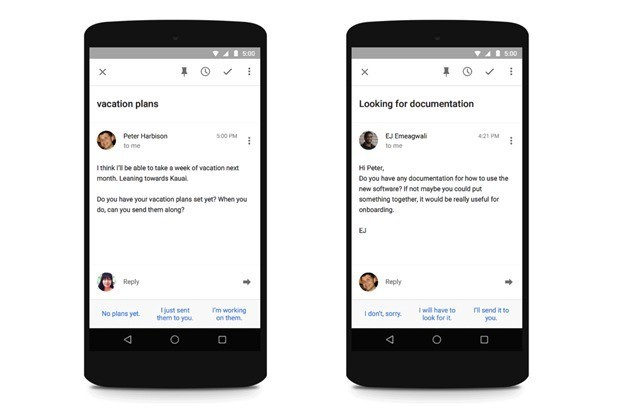 Google's machine learning Inbox can now reply to your emails