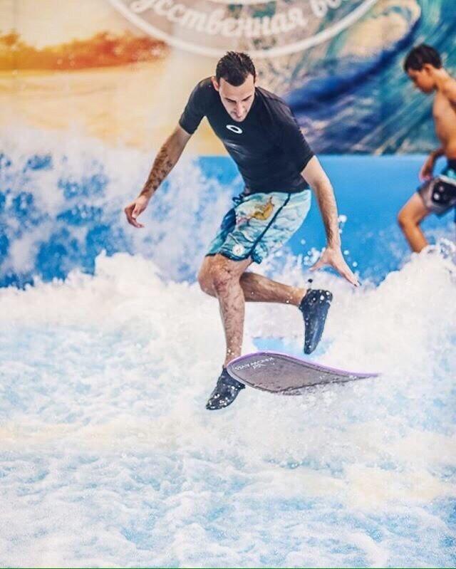 GO SURF SPB/ИСКУССТВЕННАЯ ВОЛНА - Magazine cover
