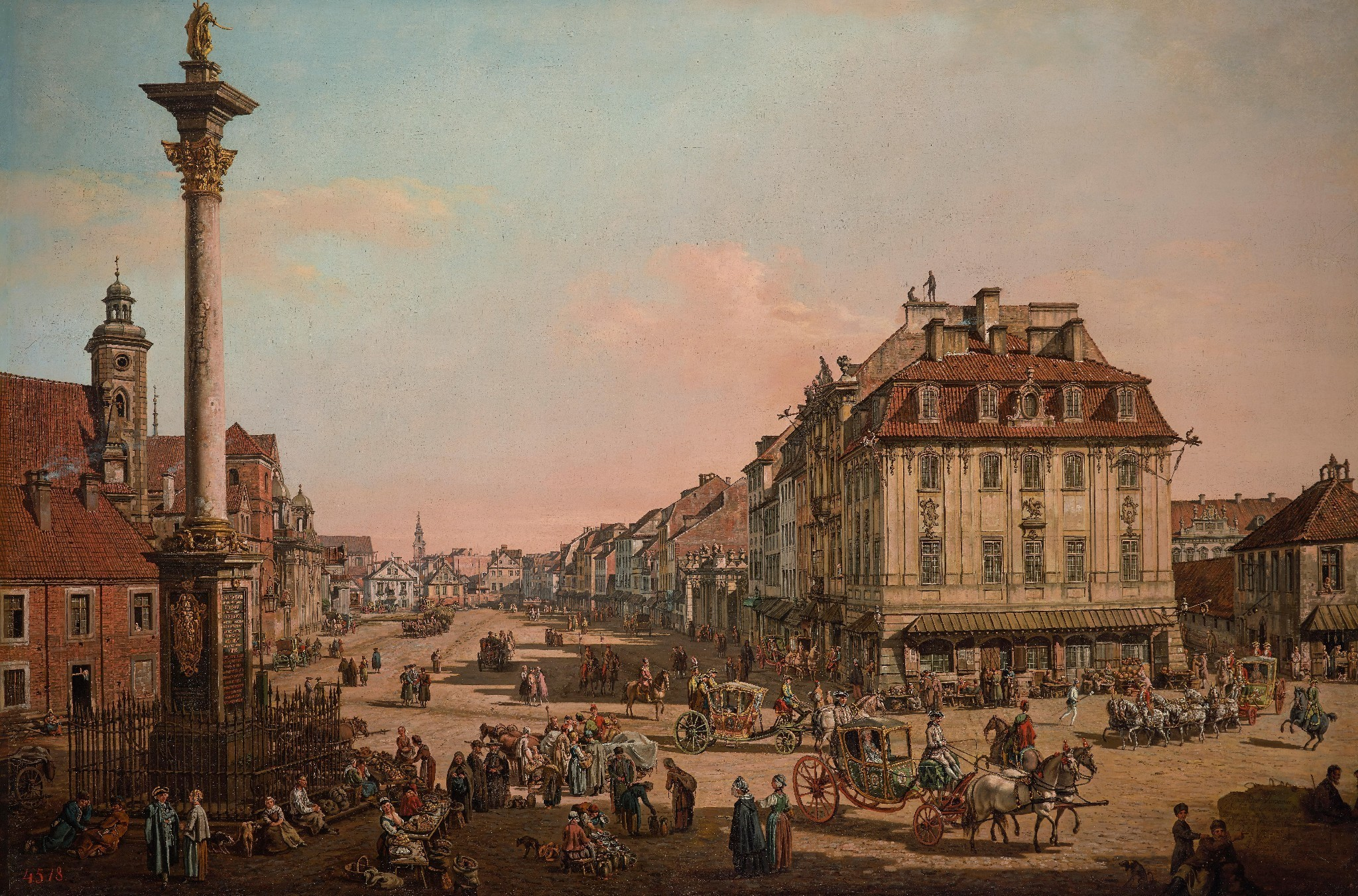 Story of cities #28: how postwar Warsaw was rebuilt using 18th century paintings