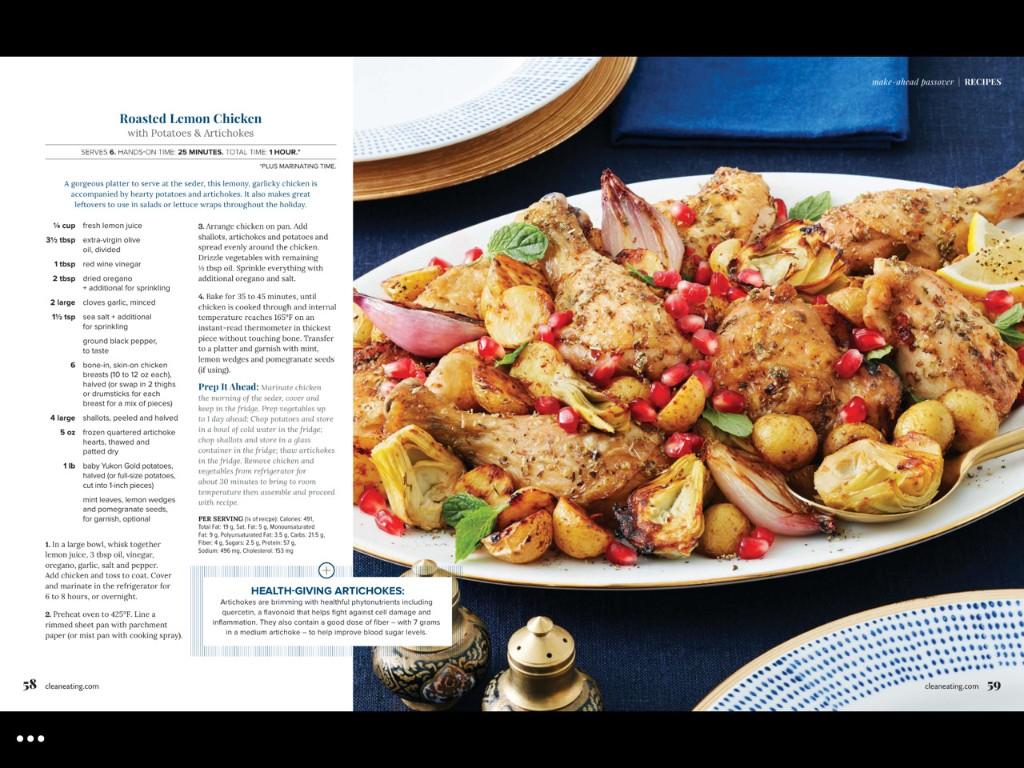 Recipes - Magazine cover