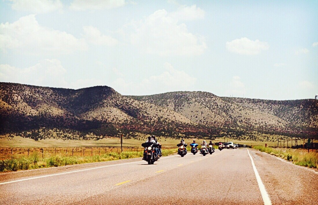 Roadtripping on route 66 - cover