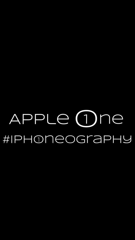 Apple One #iPhoneography - cover