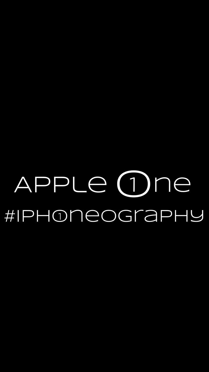 Apple One #iPhoneography cover image