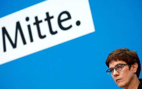 CDU-Chefin - Scholz-Vorstoß zu Bankenunion keine Regierungsmeinung